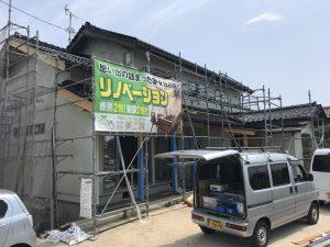 実家リノベーション 内装工事中 in 出雲市M様邸 / 完成見学会案内!