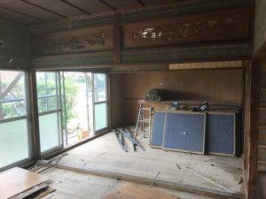 モデルハウス2号店の解体が始まりました!