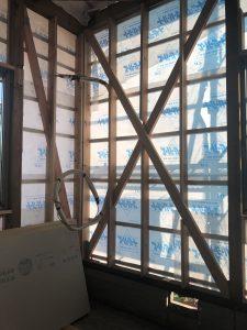モデルハウス2号店 断熱改修の準備