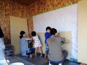 塗り壁体験開催しています!