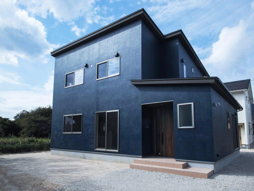 Maison blue