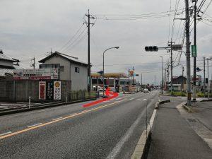 斐川モデルハウスの駐車場です!