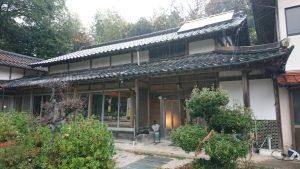 伊野地区の空き家『たるみ』の改修