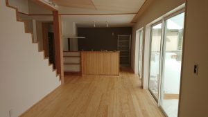 一の谷モデルハウス 内装