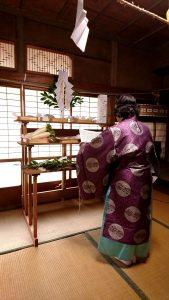 大田市S様邸・安全祈願祭でした