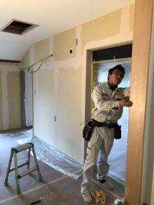 ハーフDIY・珪藻土塗り壁に挑戦されました!