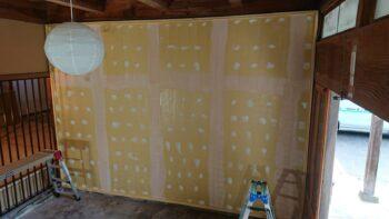 「いのっ子DIYワークショップ」塗り壁に挑戦!