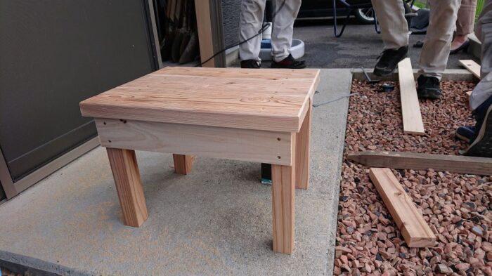 木工教室開催します
